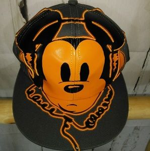 NWOT Mickey Mouse baseball cap hat headphones